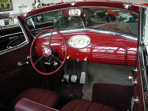 Салон автомобиля Hudson