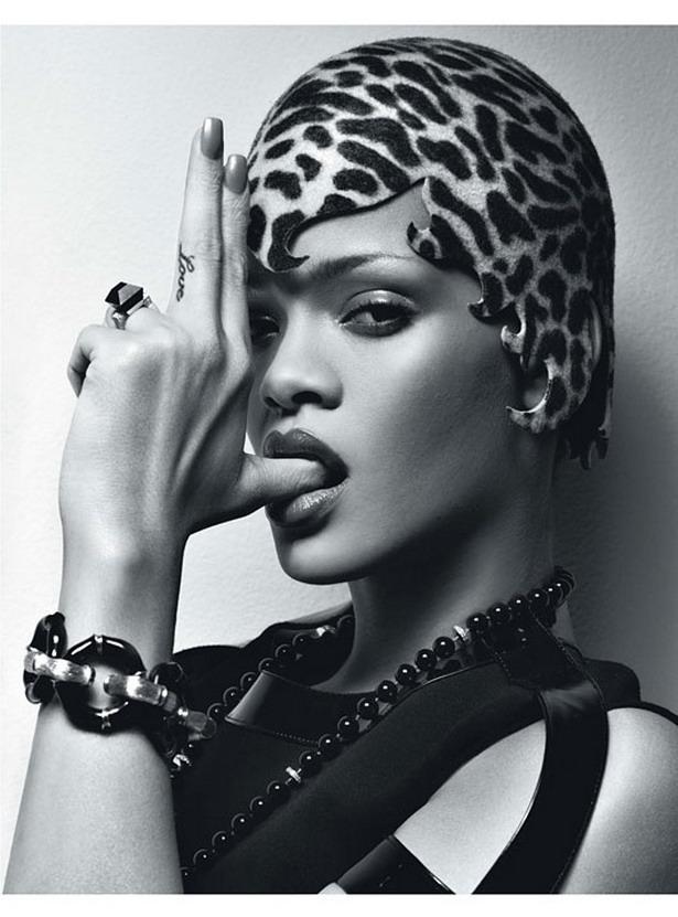 Рианна (Rihanna) фото 2010 для журнала W