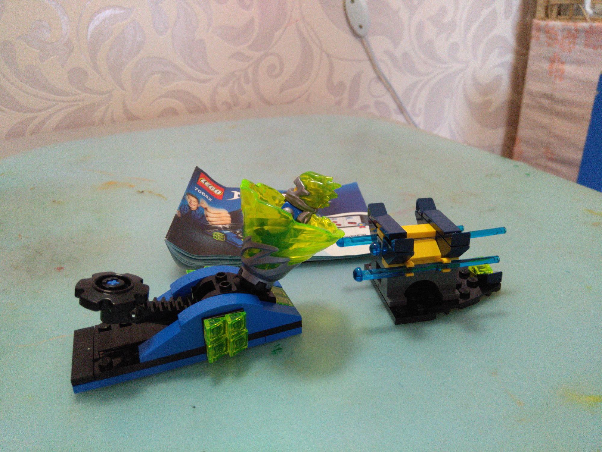 Волчок и катапульта из NinjaGo