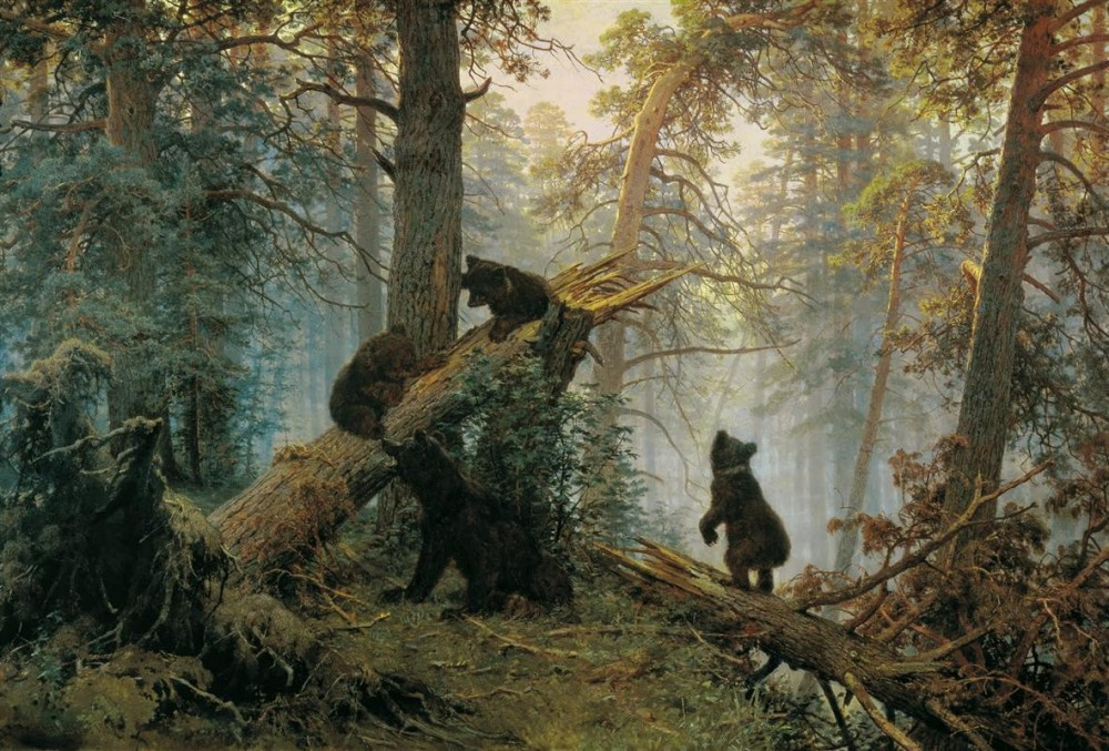 morning-in-a-pine-forest-1889