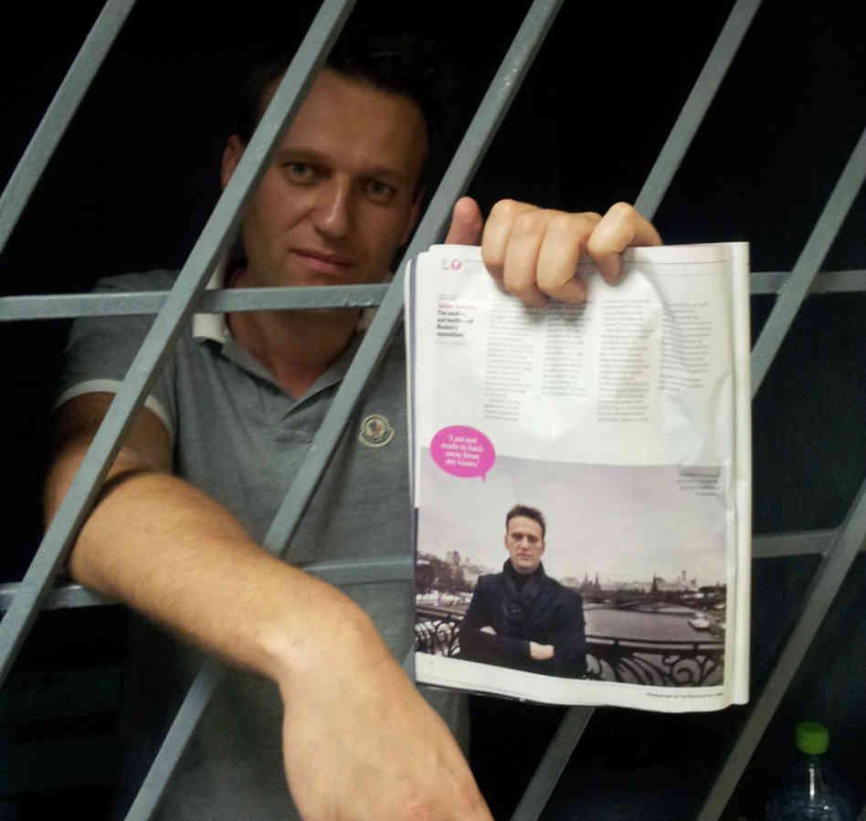 За январский митинг Навального арестовали в августе...