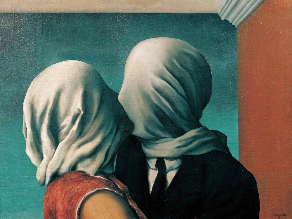 Влюбленные (1928) (54 х 73.4 см) (Нью-Йорк, Музей современного искусства).