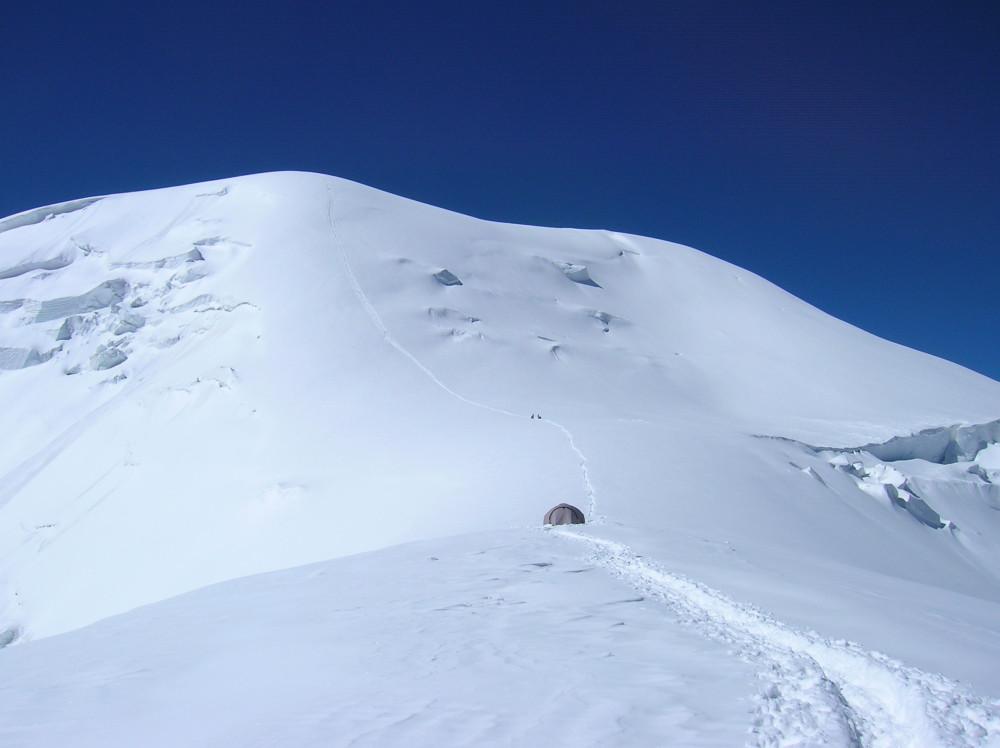 Подъем на вершину Раздельная, Памир 2008