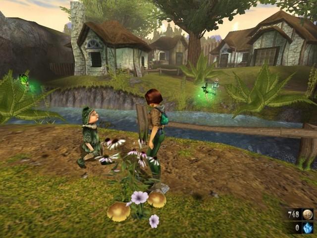 Zanzarah: the hidden portal - приключенческая игра в альтернативном мире с феями, эльфами и гномами