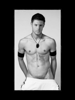 jensen ackles full body naked