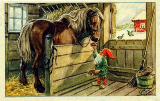 """Картинки по запросу """"домовые лошади"""""""
