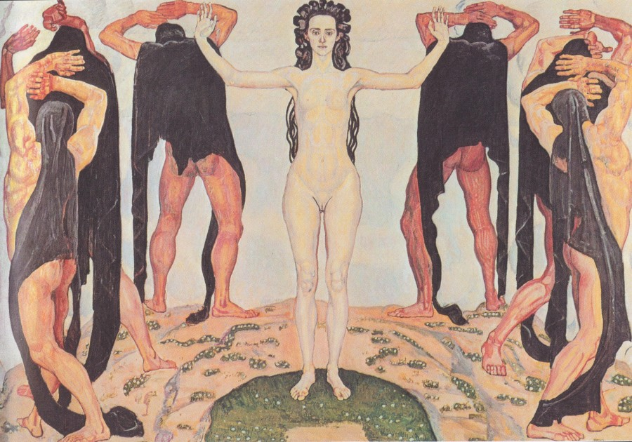 Фердинанд Ходлер (1853-1918). Правда (1904)/Ferdinand Hodler (1853-1918) The truth (1904)