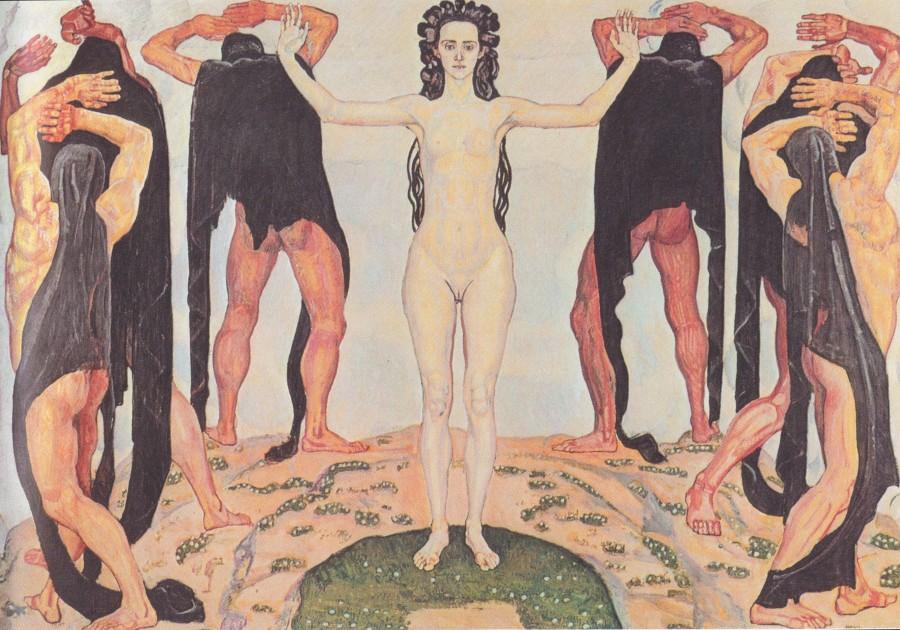 Фердинанд Ходлер (1853-1918). Правда (1904)/Ferdinand Hodler (1853-1918) The truth (1904)