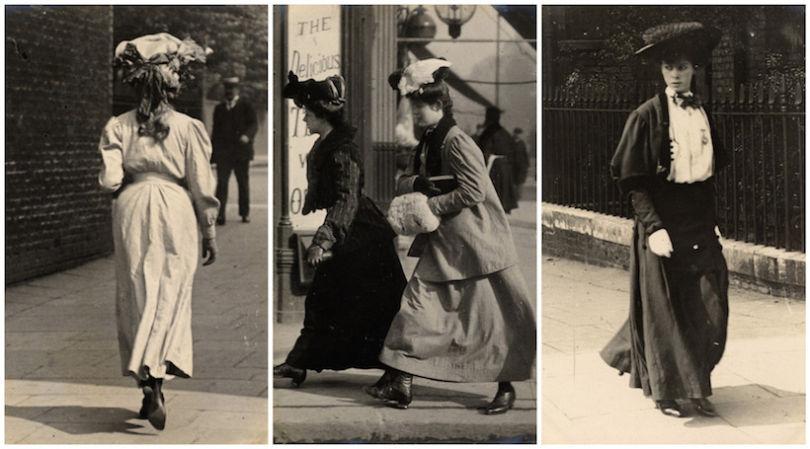 London. Kensington.1905. Читая старые газеты