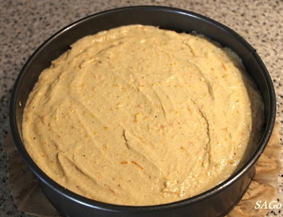 Торт с апельсином 026