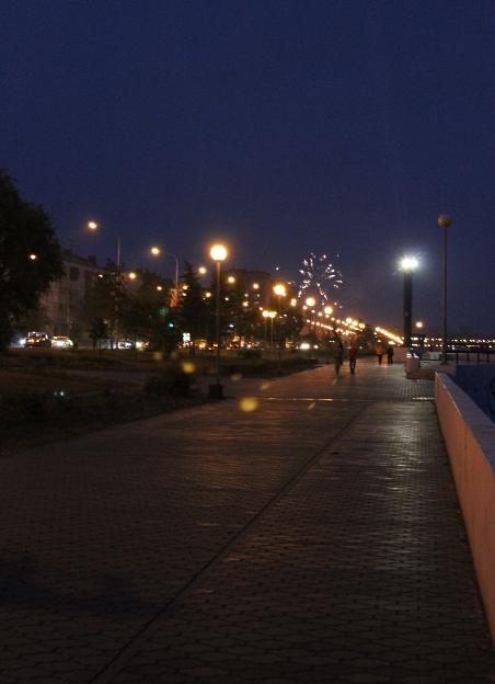 Набережная ночью 061