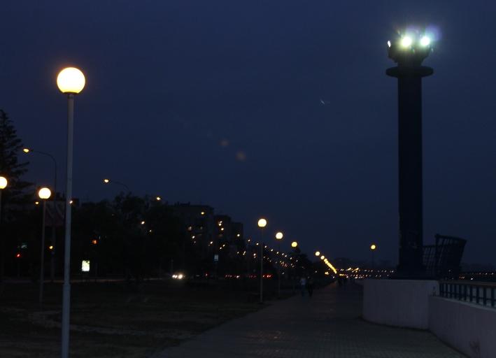 Набережная ночью 018