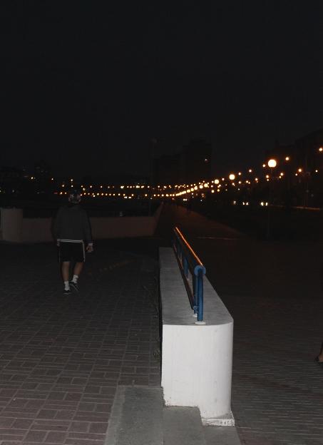 Набережная ночью 046