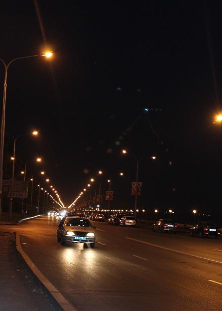 Набережная ночью 096