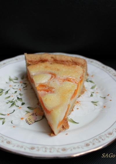 Пирог с абрикосами по-цветаевски 031