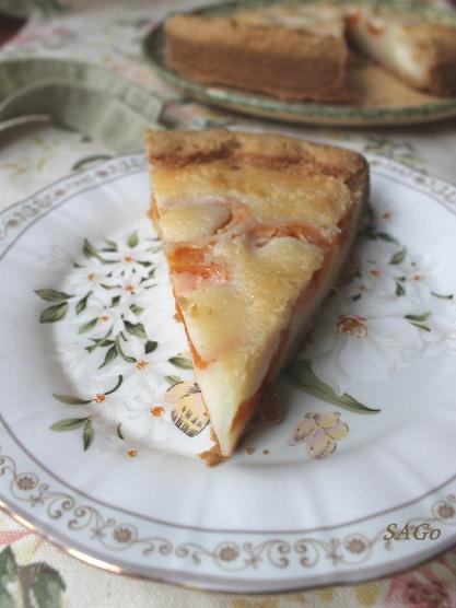Пирог с абрикосами по-цветаевски 007