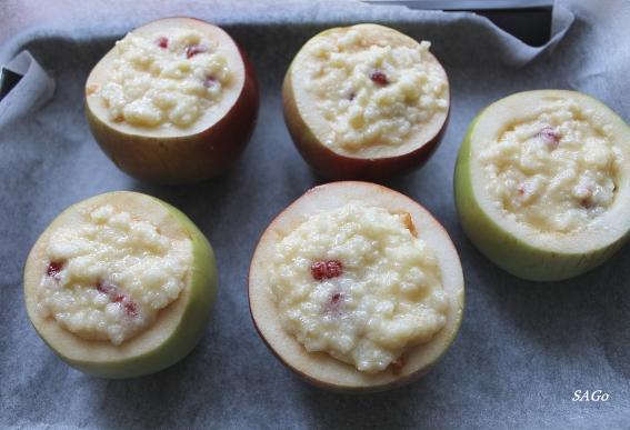 Яблочки под облачком 006