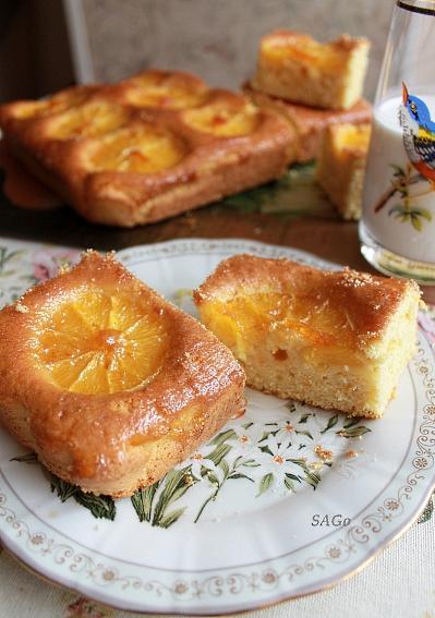 Копия Апельсиновый пирог с глазурью 013