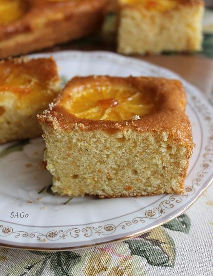 Копия Апельсиновый пирог с глазурью 027