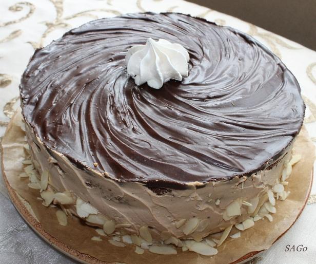 Торт Кофейный забайоне 026
