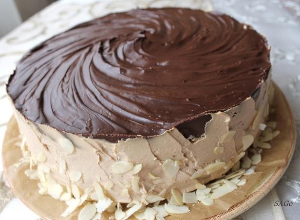 Торт Кофейный забайоне 021