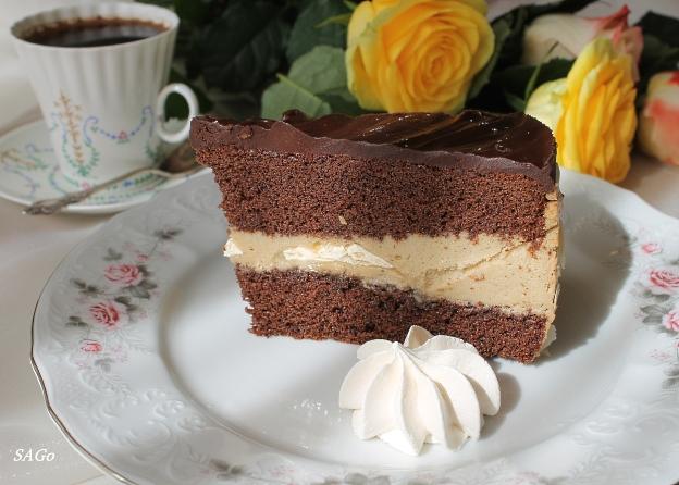 Торт Кофейный забайоне 045