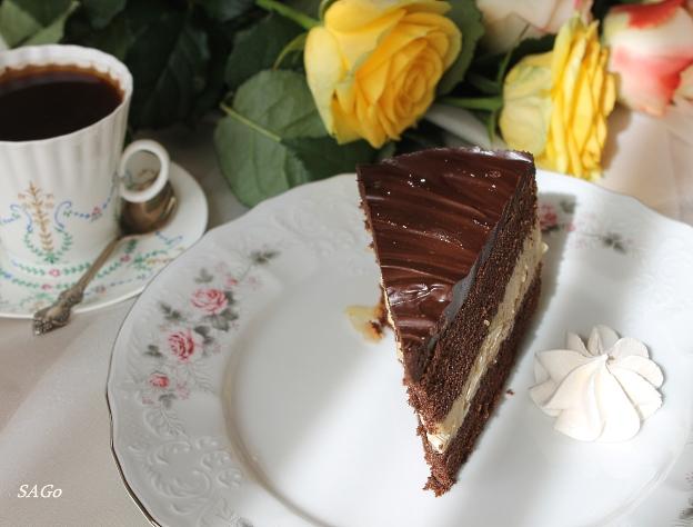 Торт Кофейный забайоне 050