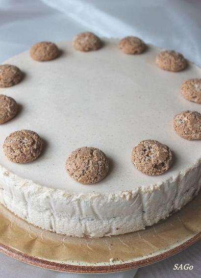 Торт Миндально-сливовый 066