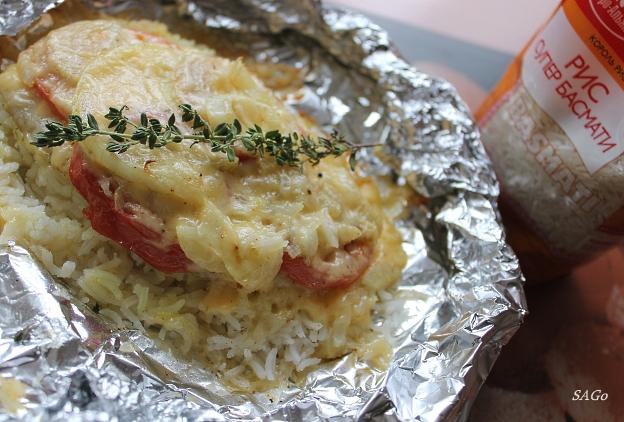 Рыба с рисом Агро-Ал 003