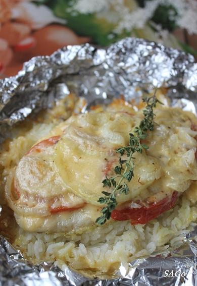 Рыба с рисом Агро-Ал 006