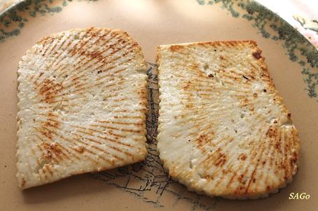 Тёплая закуска с адыгейским сыром и песто, кокосовый пирог 002
