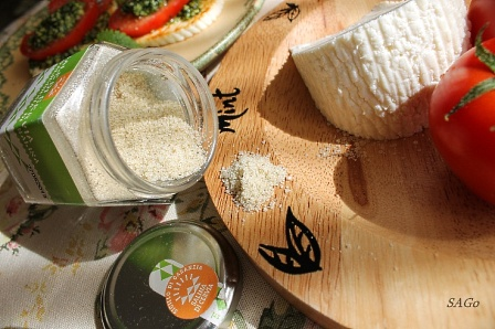 Копия Тёплая закуска с адыгейским сыром и песто, кокосовый пирог 025