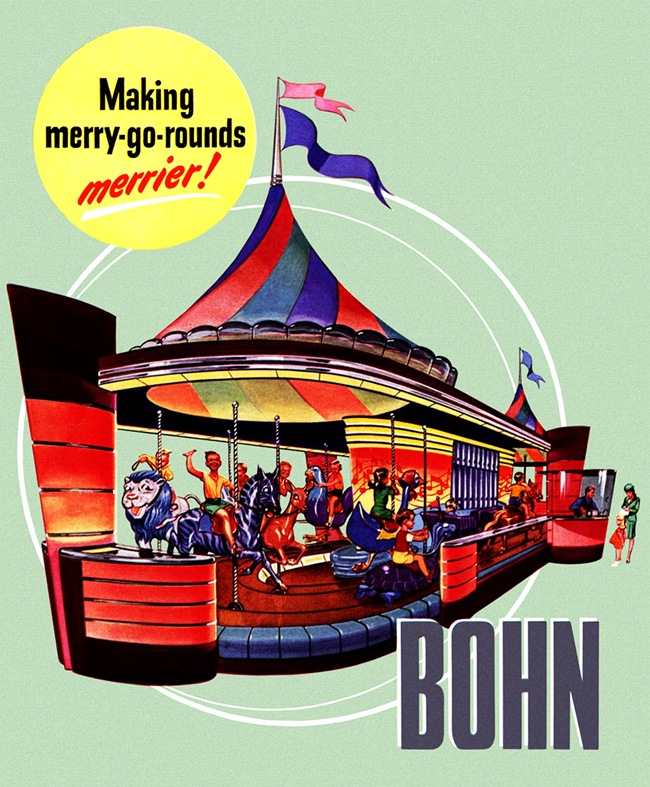 1946- Bohn merry-go-round- by Radebaugh