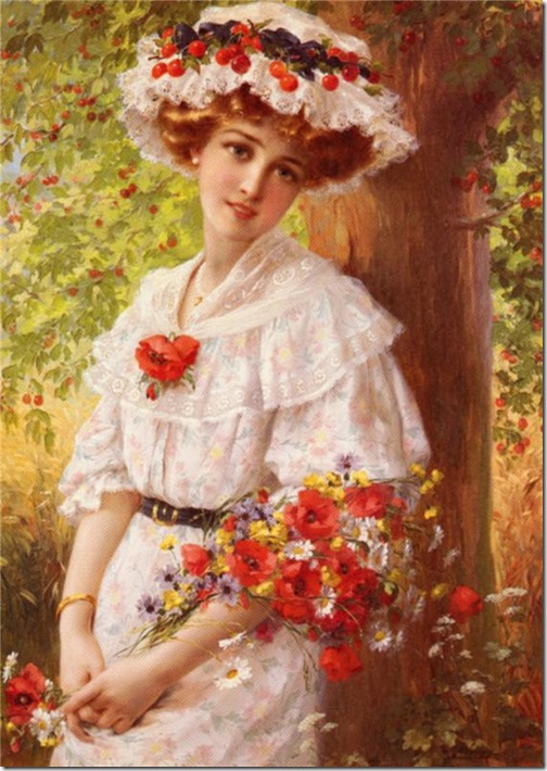 под вишневым деревом 1909