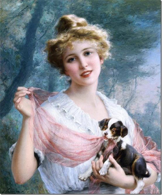 шаловливый щенок 1915