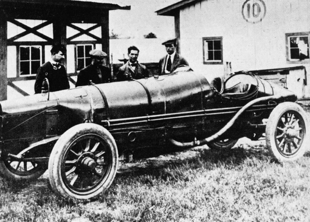 1913-indy-500-sunbeam-bob-burman-albert-guyot-driver-ralph-de-palma-crossman-mechanic