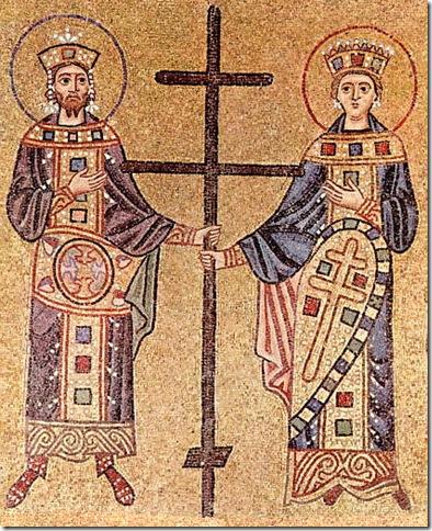 Константин Великий и царица Елена