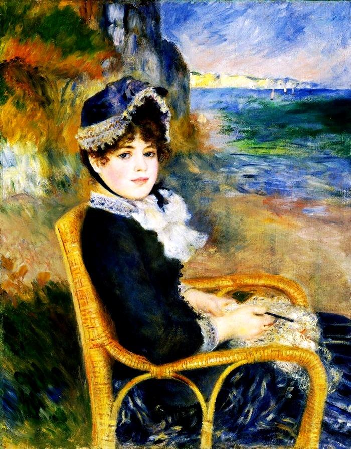 Пьер Огюст Ренуар # Renoir Pierre-August Au bord de la Mer