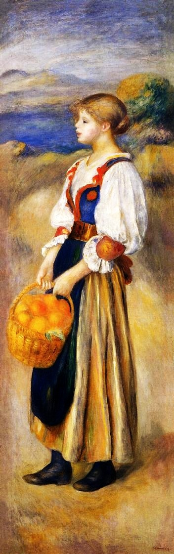 Girl-with-a-Basket-of-Oranges-1889