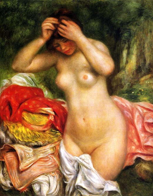 Bather-Arranging-Her-Hair-1893-