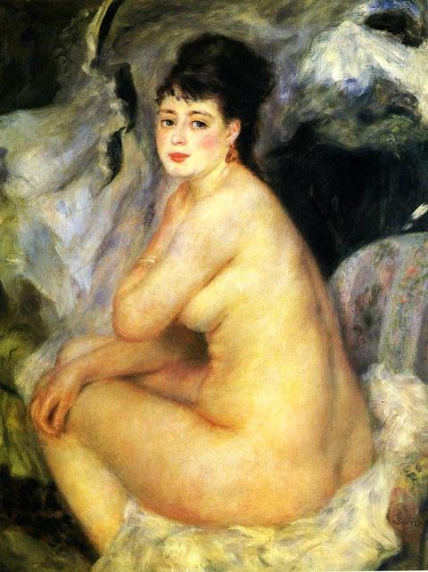 Nude-Seated-on-a-Sofa-1876
