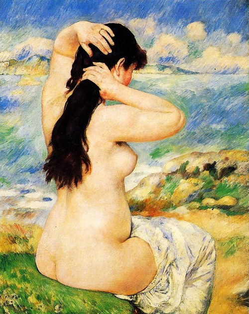 Nude-Fixing-Her-Hair-1885