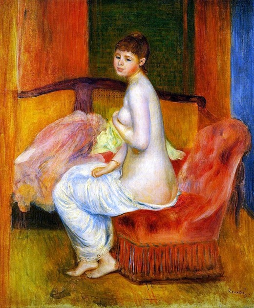 Seated-Nude-also-known-as-At-East-1885