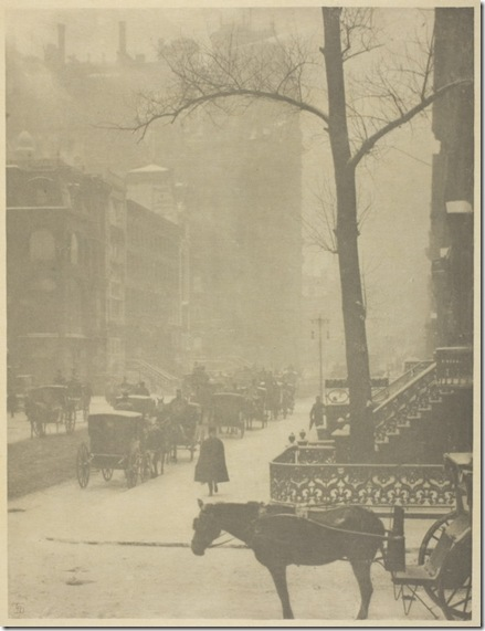 The Street, Fifth Avenue, 1900