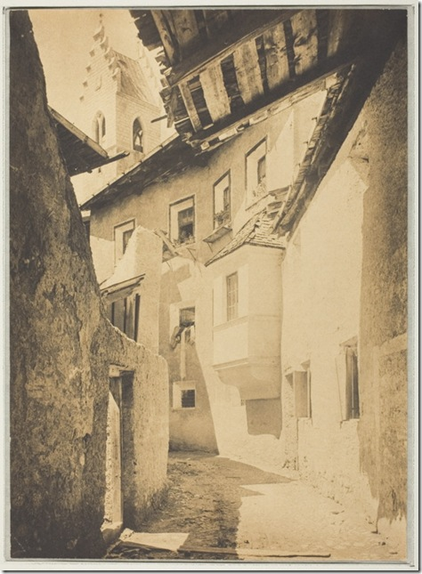 A Street in Sterzing, The Tyrol, 1890