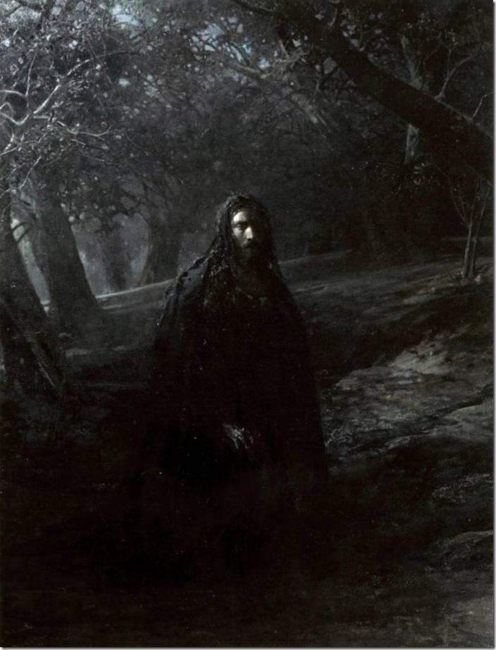 Н.Ге.В Гефсиманском саду.1869-80 год