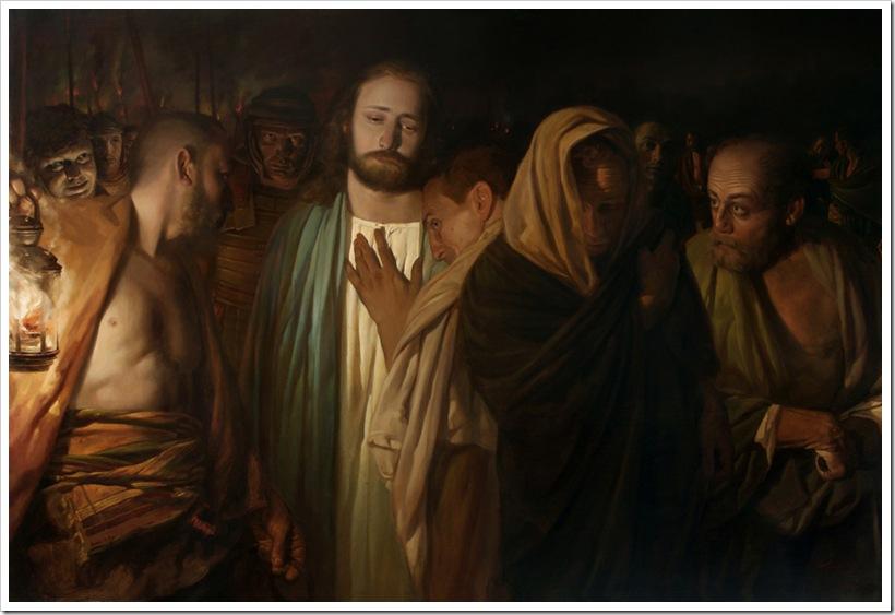 Миронов А.Н. Поцелуй Иуды