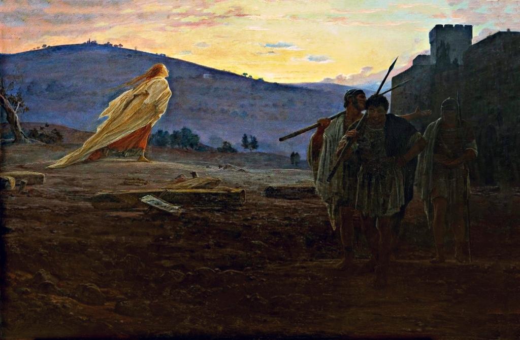 Николай Ге. Вестник воскресения. 1867