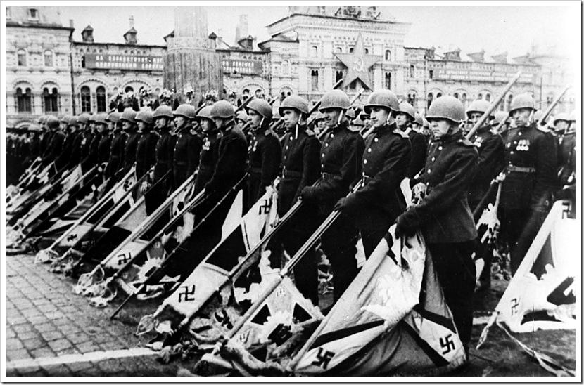 Москва. Парад Победы на Красной площади 24 июня 1945 года