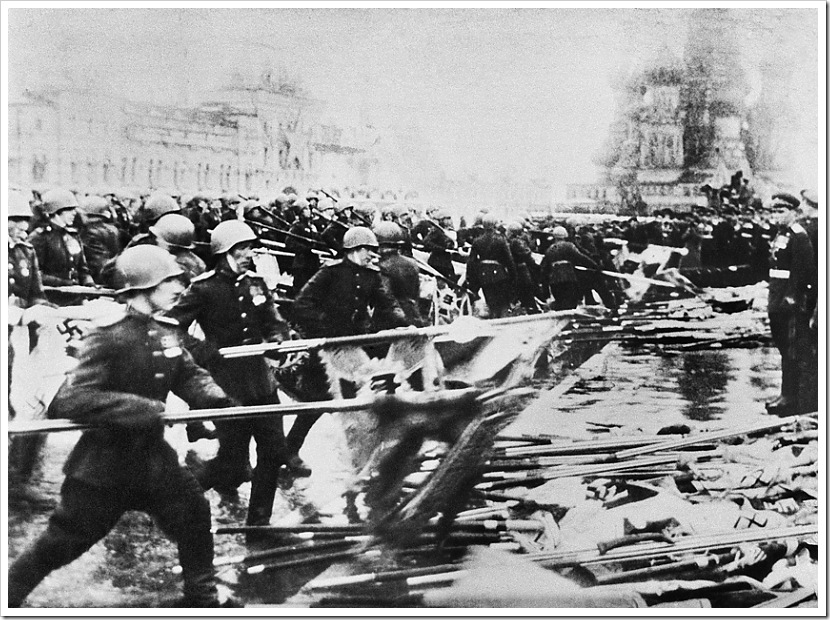 Москва. Парад Победы на Красной площади 24 июня 1945 год.